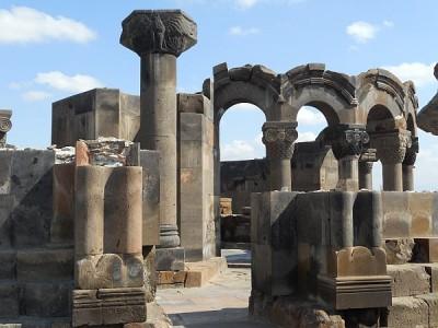 Armenia katedra Zwartnoc