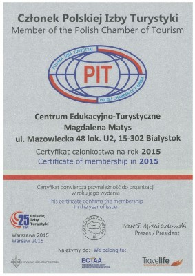 certyfikat PIT 2015