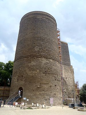 wieża dziewicza, baku