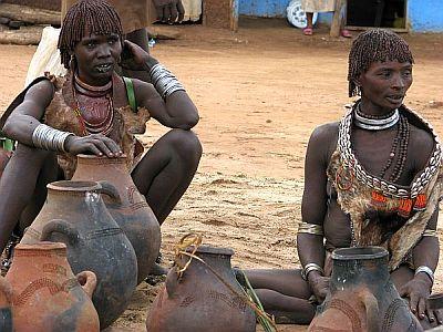 Etiopia, południe, plemiona
