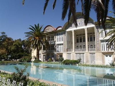Iran Sziraz ogród Eram