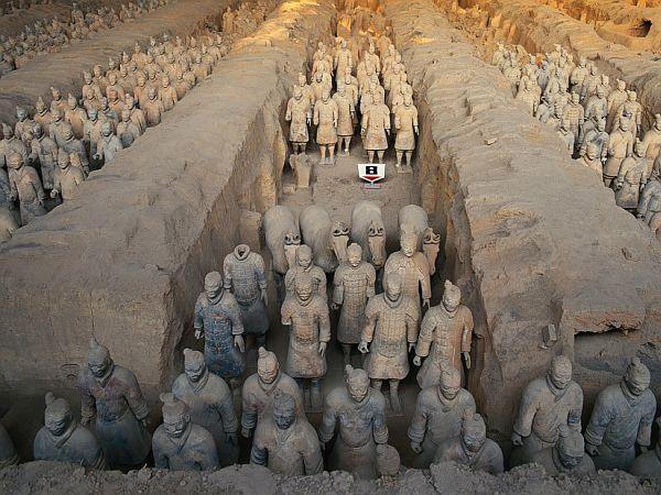 chiny xian armia terakotowa wycieczka