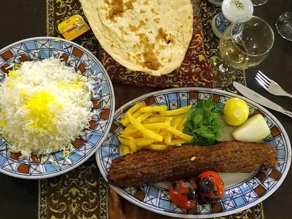 iran kuchnia potrawy kebab