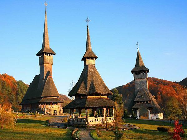 Cerkwie w Maramuresz