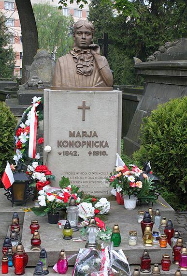 lwow cmentarz lyczakowski maria konopnicka
